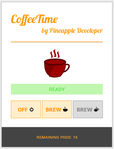 Coffee Time by Pineapple Developer