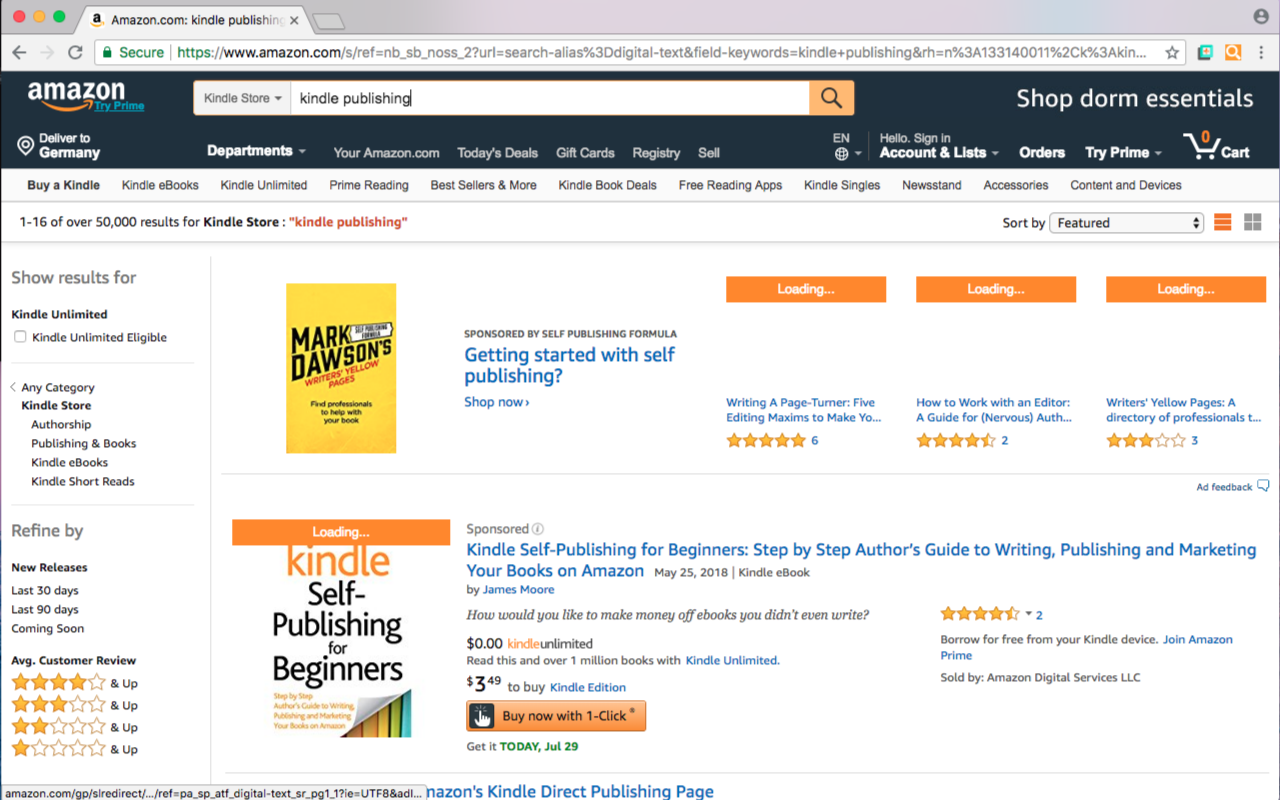 Amazon Bestseller Rank by Pineapple Developer, owner Johannes Schuh - Screenshot of the Chrome Extension