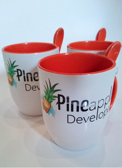 Pineapple Developer Tassen