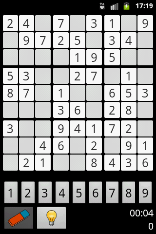 Sudoku by Pineapple Developer, owner Johannes Schuh - Screenshot of the Android App